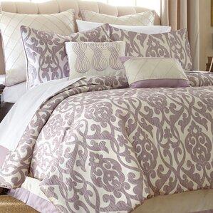 Damask Bedding Youll Love Wayfair - Blue and brown damask comforter