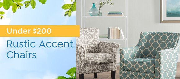 Rustic Accent Chairs Under $200
