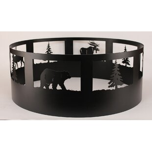 Coast Lamp Mfg. Pine Tree Steel Charcoal ..