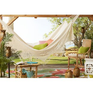 Berenice Two Person Deluxe Cotton Tree Hammock by Freeport Park 2019 Sale