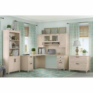 Kathy Ireland Office by Bush Volcano Dusk 4 Piece Desk Office Suite