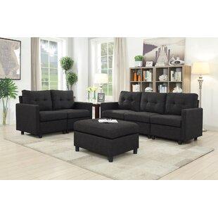 Brewer 3 Piece Living Room Set