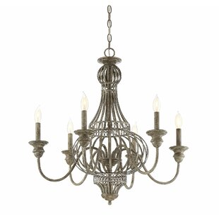 Compare Botsford 6-Light Chandelier By Bungalow Rose
