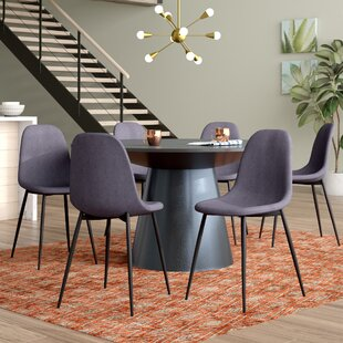 Mickelson Upholstered Dining Chair (Set of 6) by Wrought Studio