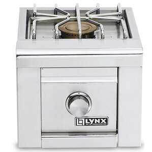 single side burner for builtin grills lp - Coyote Grills