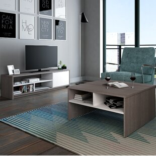 Smit 2-Piece Storage Coffee Table and TV Stand Set by Zipcode Design