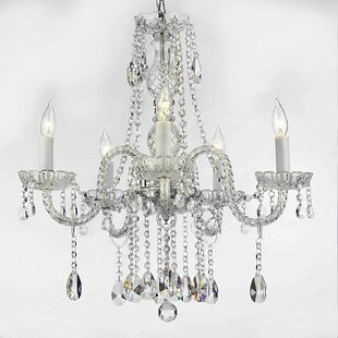 House of Hampton Meredith 5-Light 40W Candle Style Chandelier