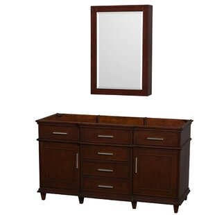 Berkeley 59 Single Bathroom Vanity Base by Wyndham Collection