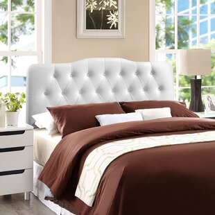 Reviews Minneapolis Upholstered Panel Headboard by Charlton Home