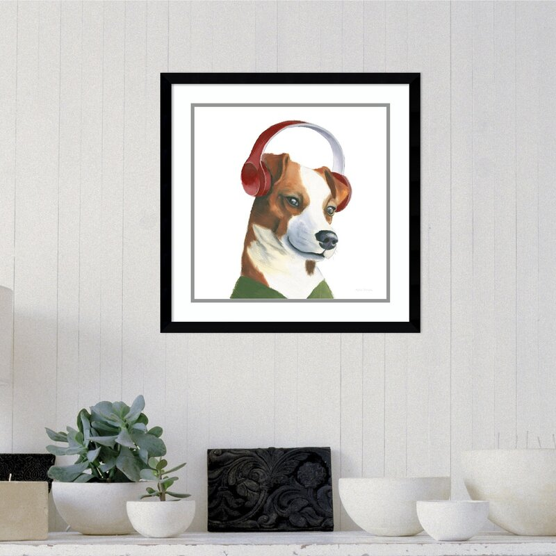 Ivy Bronx The Boys V Dog Framed Print On Wood Wayfair