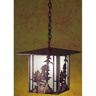 Meyda Tiffany Tall Pines 1-Light Pendant