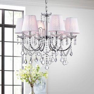 Annette 6-Light Shaded Chandelier