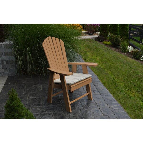 sc 1 st  Wayfair & Au0026L Furniture Upright Plastic Adirondack Chair u0026 Reviews | Wayfair