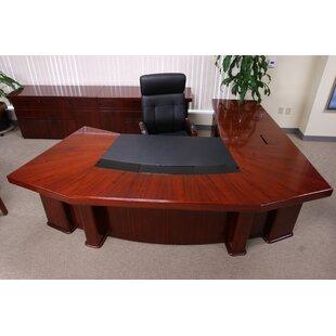 Hedden L-Shape Executive Desk By Symple Stuff