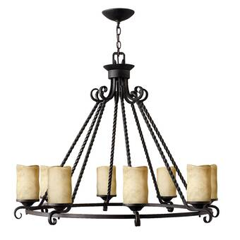 Cyan Design Luciani 6 Light Candle Style Empire Chandelier Perigold