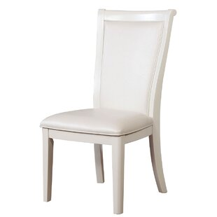 Pagoda Upholstered Dining Chair (Set of 2..