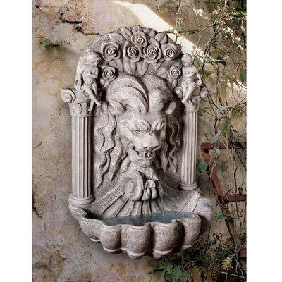 Wildon Home® Resin Lion Sculptural Fountain