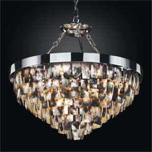 Glow Lighting Mailbu 6-Light Novelty Chandelier