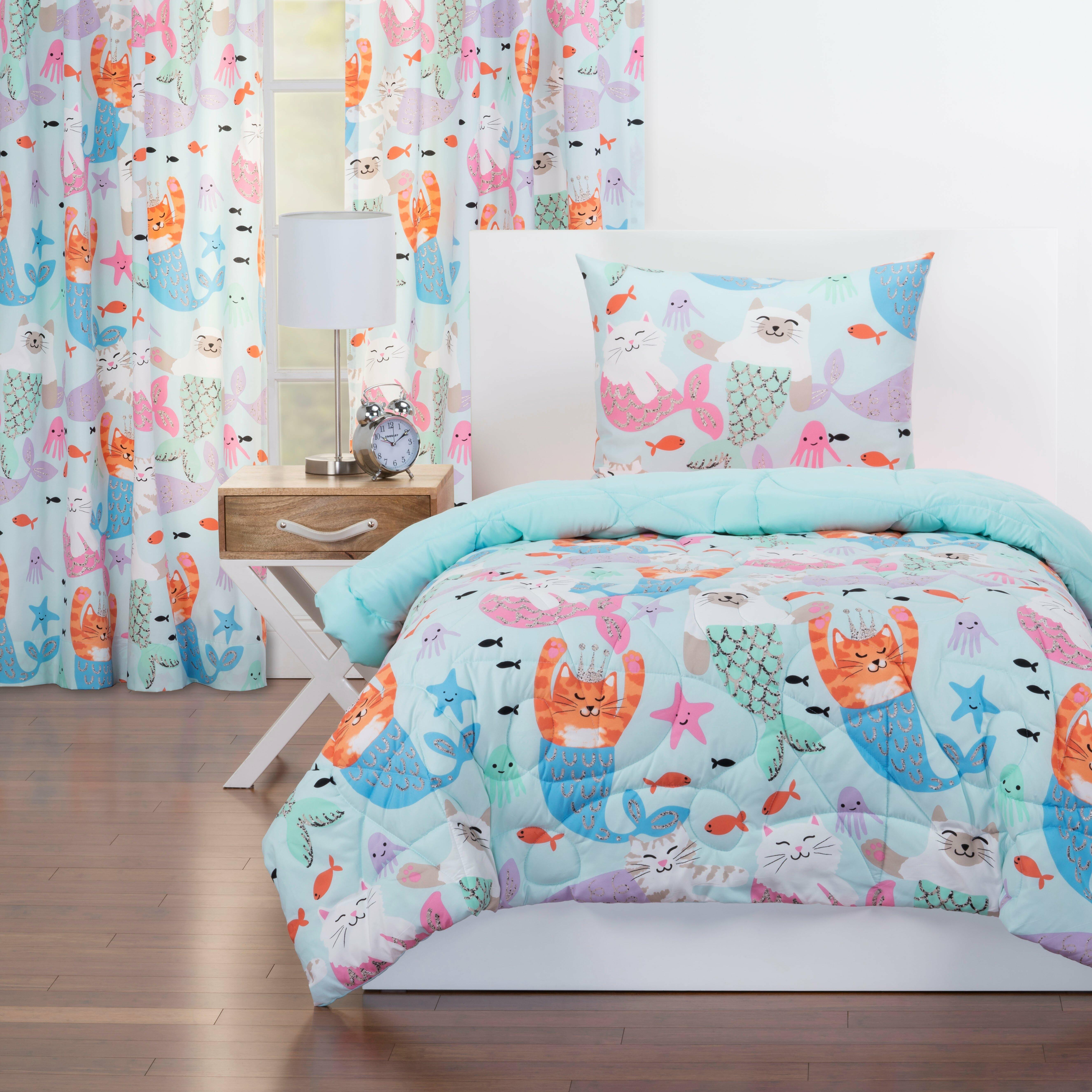 Crayola Purrmaids Reversible Comforter Set Reviews Wayfair