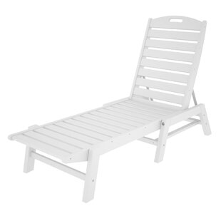 POLYWOOD® Nautical Chaise - Stackable