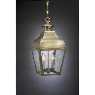 Affordable Stanfield 2-Light Outdoor Hanging Lantern By Northeast Lantern
