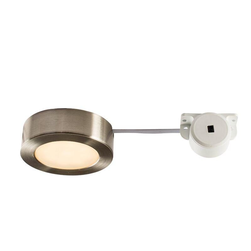 Endon lighting hera 7cm led under cabinet puck light wayfair hera 7cm led under cabinet puck light aloadofball Images