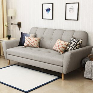 Sunnydale Mid Century Sofa by Wrought Studio