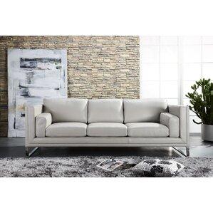Theodis Top Grain D Grade Contemporary Sofa ..