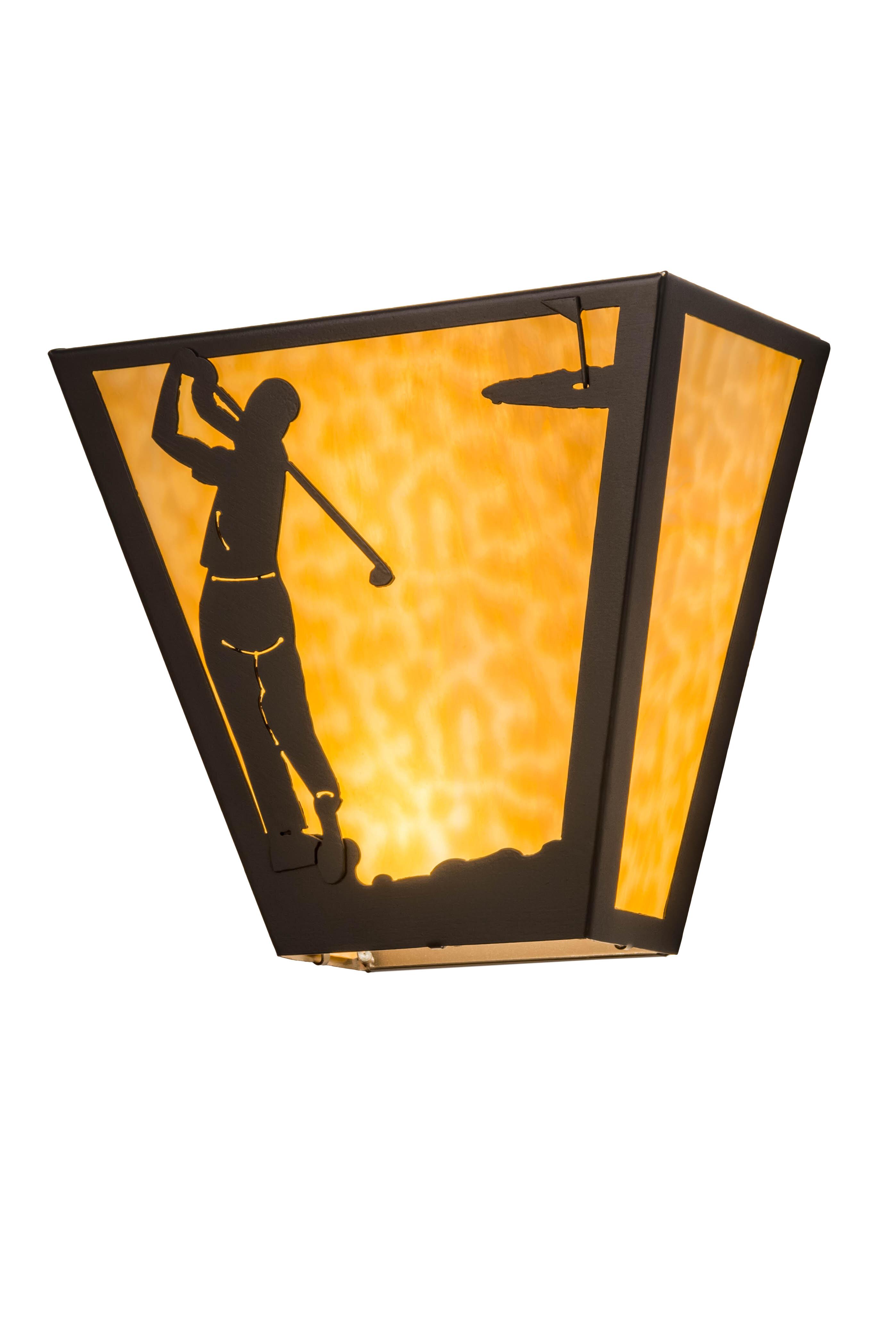 Meyda Tiffany 2-Light Golf Wall Sconce | Wayfair