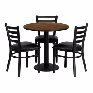 Pulaski 4 Piece Dining Set by Red Barrel Studio