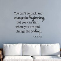 """FIRST WE HAD EACH OTHER Nursery Wall Vinyl Decal Words Lettering Quote 48/"""""""