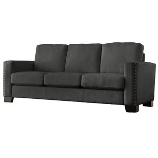 Blackston Nailhead Trim Sofa Mercury Row