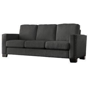 #2 Blackston Nailhead Trim Sofa Mercury Row
