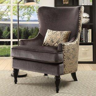 Cedrick Wingback Chair by House of Hampton