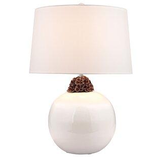 Hanaford Embellished Neck Ceramic LED 27 Table Lamp