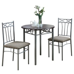 Blaxcell 3 Piece Dining Set by Latitude Run