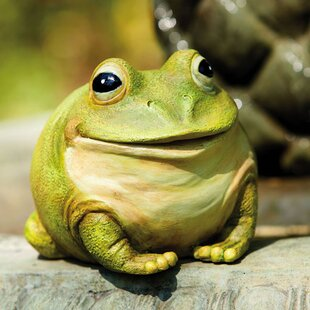 Portly Frog Statue