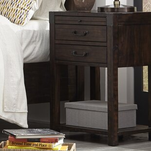 Kellyville 2 Drawer Open Nightstand