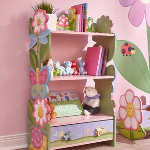 Magic Garden Childrens 9652cm Bookcase