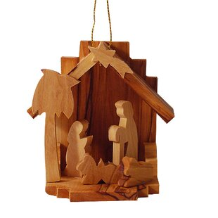 Nativity Large Ornament