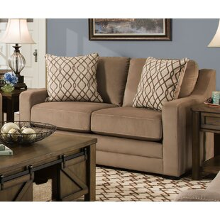 Affordable Tremont Loveseat by Simmons Upholstery by Darby Home Co Reviews (2019) & Buyer's Guide