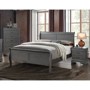 Charlton Home Poulos Sleigh Bed