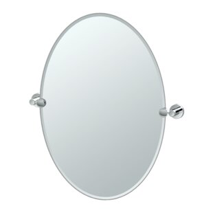 Gatco Glam Oval Wall Mirror