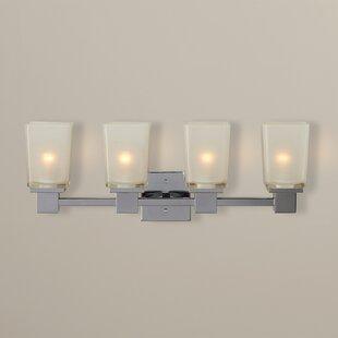 Reviews Edington 4-Light Vanity Light By Ebern Designs