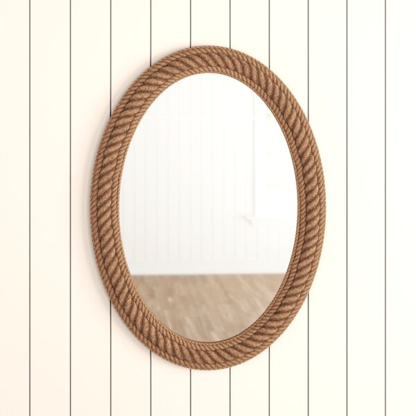 Sydney Rope Wall Mirror Wayfair