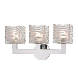 Teegan 3-Light LED Vanity Light by Mercer41