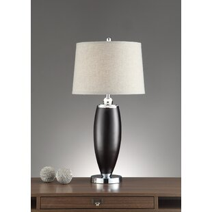 Charron Wide Shade 34 Table Lamp (Set of 2)