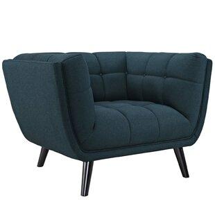 Seneca Upholstered Armchair by Brayden Studio