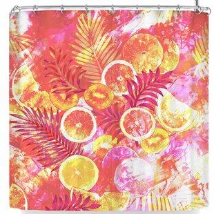 East Urban Home Victoria Krupp Fruit Punch Shower Curtain