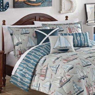 Set Sail Reversible Comforter Set